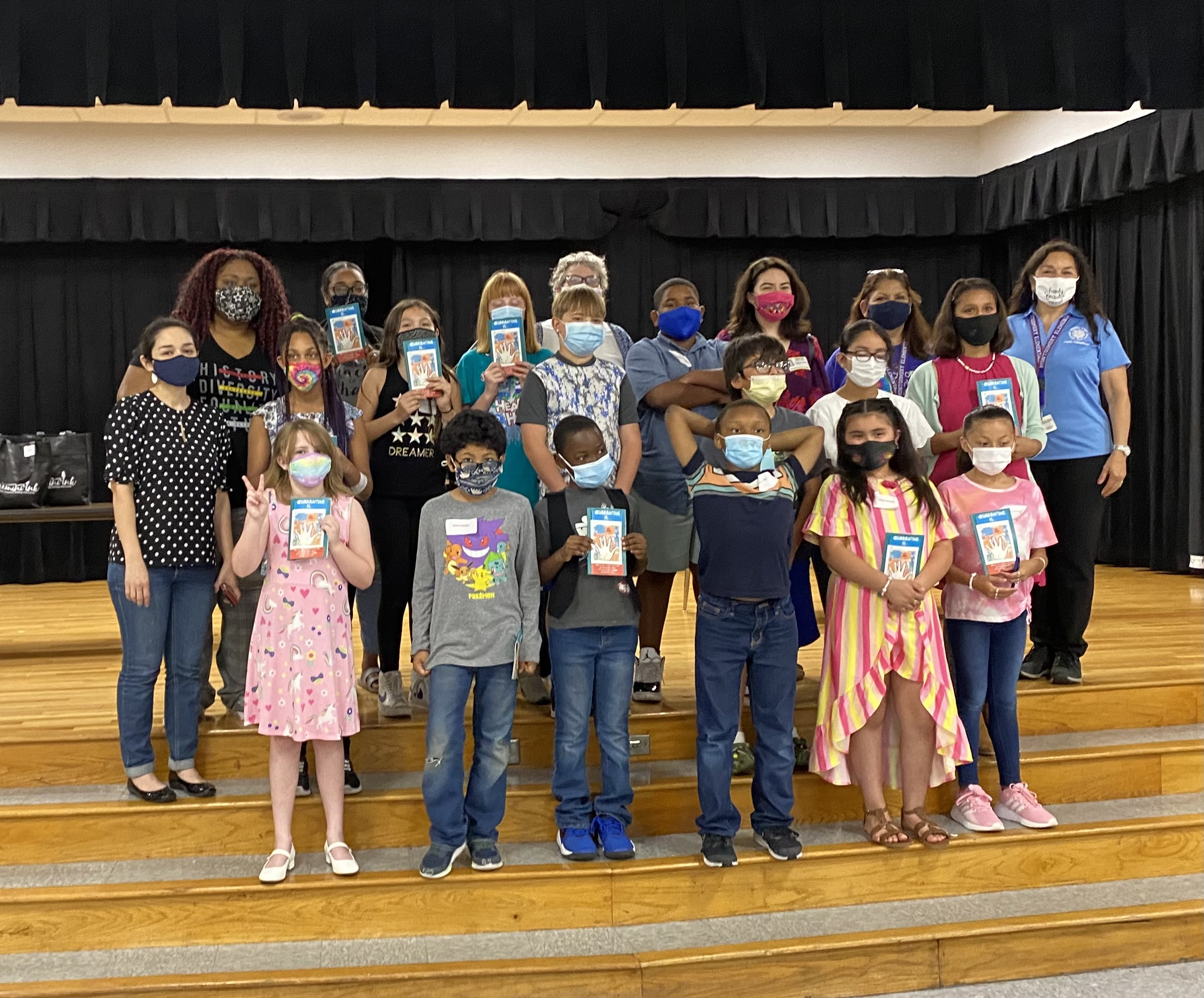 QUARANTINE IS… See our latest anthology from Montgomery and Camelot Elementary Schools