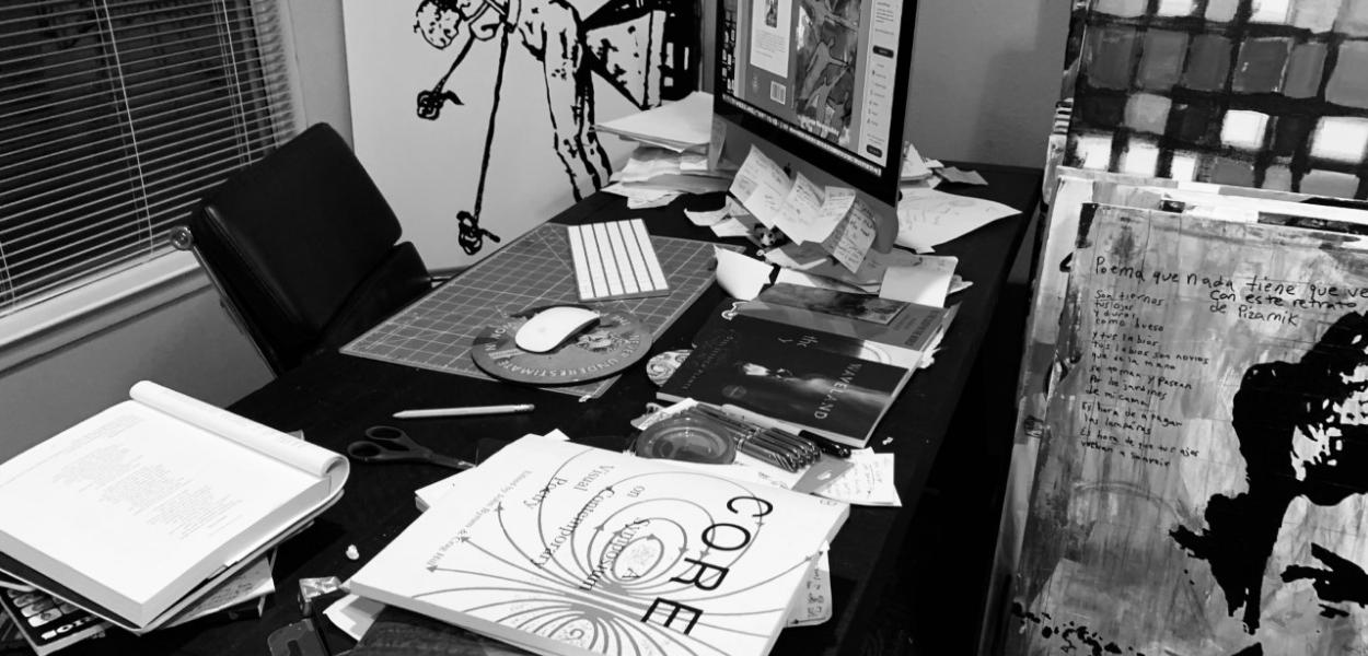 The Writer's Desk with Octavio Quintanilla
