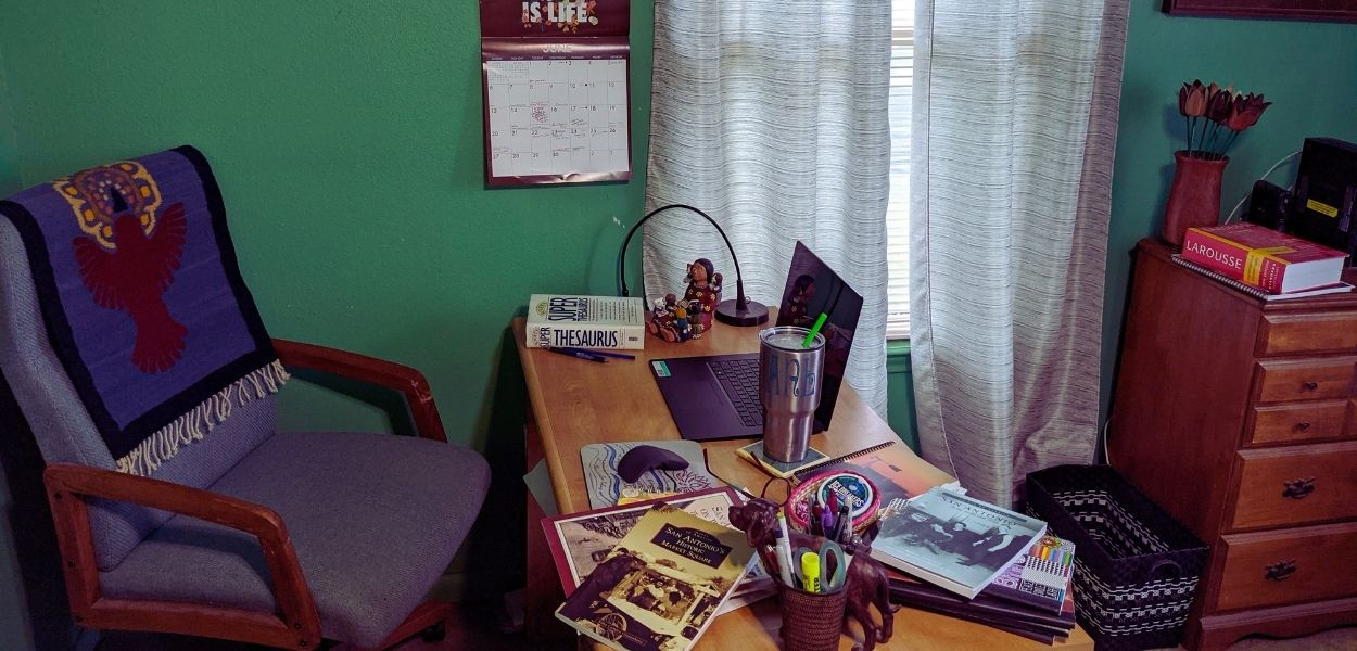 The Writer's Desk with Diane Gonzales Bertrand